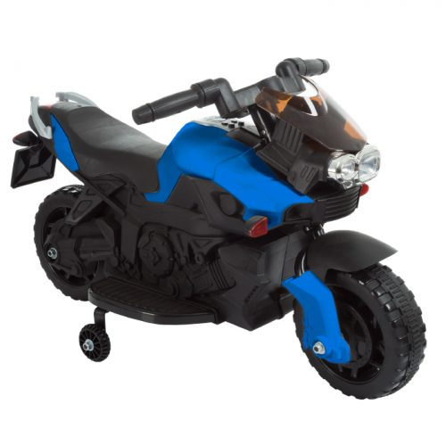 Lil Rider M410013 Ride on Toy 2 Wheel Motorcycle with Training Wheels 2-5 Years Old - Blue