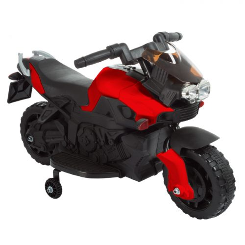 Lil Rider M410014 Ride on Toy 2 Wheel Motorcycle with Training Wheels 2-5 Years Old -Red