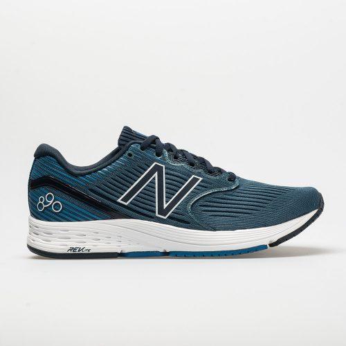 New Balance 890v6: New Balance Men's Running Shoes Light Petrol/Galaxy/Laser Blue