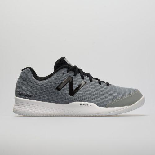 New Balance 896v2: New Balance Men's Tennis Shoes Team Away Gray/Black