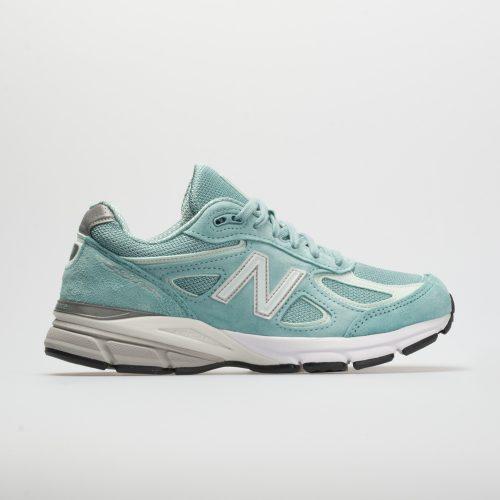 New Balance 990v4: New Balance Men's Running Shoes Mineral Sage/Seafoam