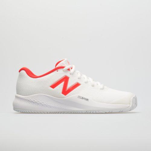 New Balance 996v3: New Balance Women's Tennis Shoes White/Flame