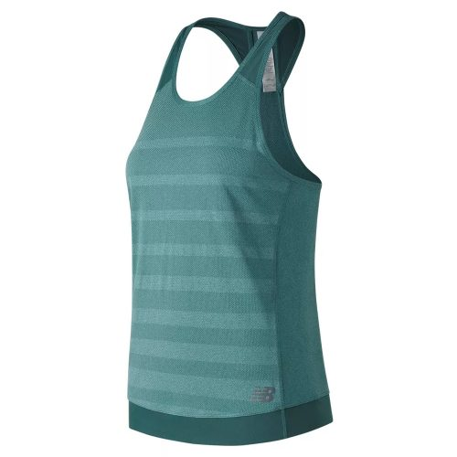 New Balance Q Speed Jacquard Tank: New Balance Women's Running Apparel