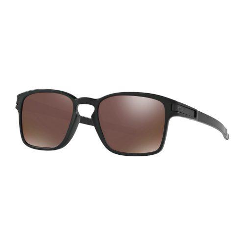 Oakley Latch Square Matte Black PRIZM Tungsten Polarized: Oakley Sunglasses