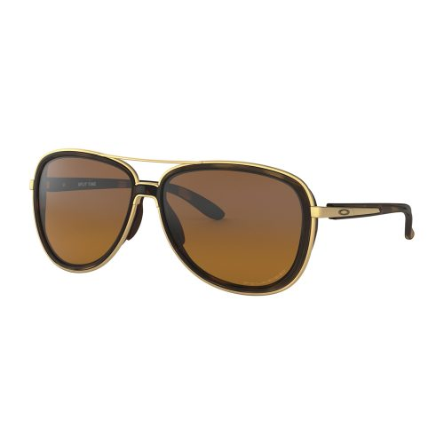 Oakley Split Time Brown Tortoise Polarized: Oakley Women's Sunglasses Sunglasses