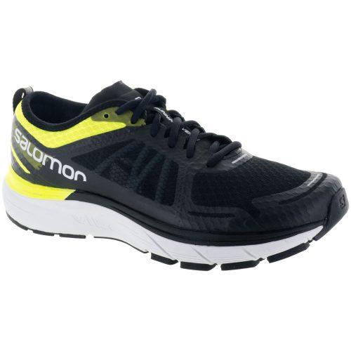 Salomon Sonic RA Max: Salomon Men's Running Shoes Safety Yellow/Black/Blue Bird