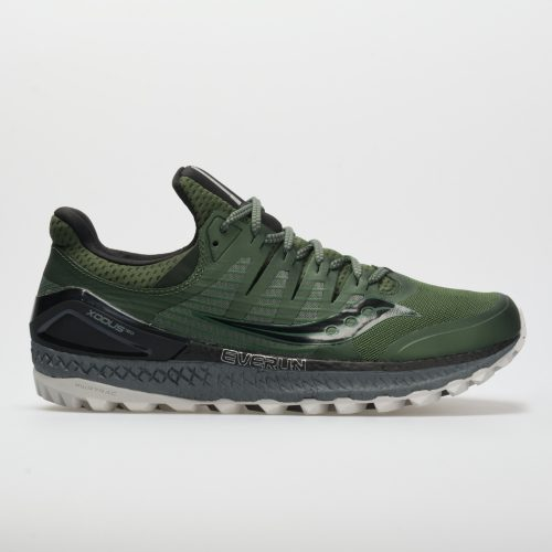 Saucony Xodus ISO 3: Saucony Men's Running Shoes Olive/Black