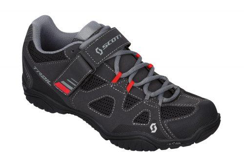Scott Trail EVO Shoes - black/red, eu 44