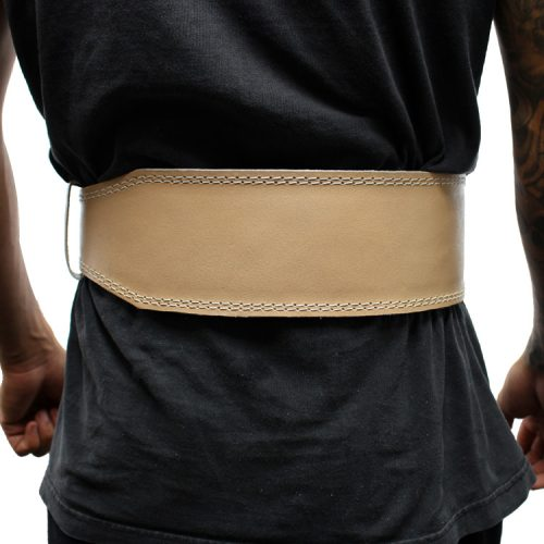 Shelter 252-M 4 in. Last Punch New Split Leather Weight Lifting Body Building Belt Gym Fitness all Sizes - Medium