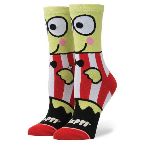 Stance Keroppi Crew Socks: Stance Women's Socks