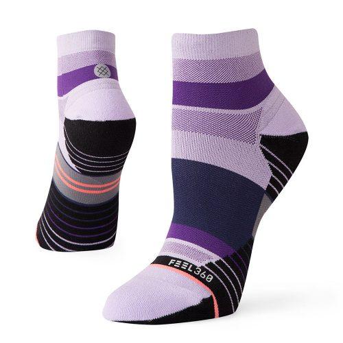 Stance Negative Split Quarter Run Socks: Stance Women's Socks