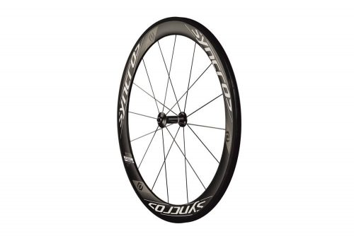 Syncros RR1.0 55mm Carbon Clincher Front Wheel - black, one size