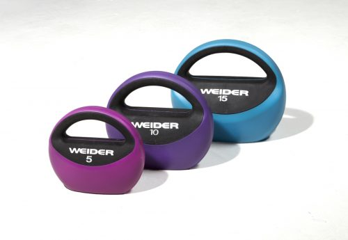 Weider WPKB1016 10 lbs Purse Kettlebell Purple