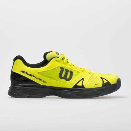 Wilson Rush Pro 2.5 Junior Acid Lime/Black/Ebony: Wilson Junior Tennis Shoes