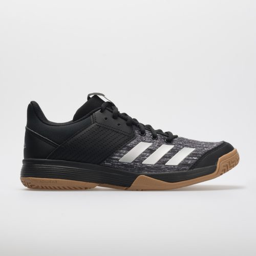 adidas Ligra 6: adidas Women's Indoor, Squash, Racquetball Shoes Black/Silver/White
