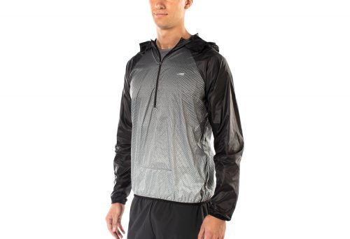 Altra Stashjack Windbreaker - Men's - silver, medium