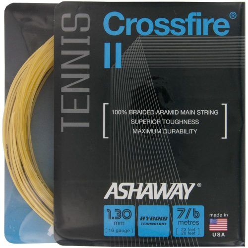 Ashaway Crossfire II 16: Ashaway Tennis String Packages