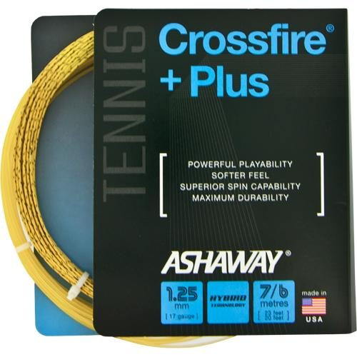 Ashaway Crossfire + Plus 17: Ashaway Tennis String Packages