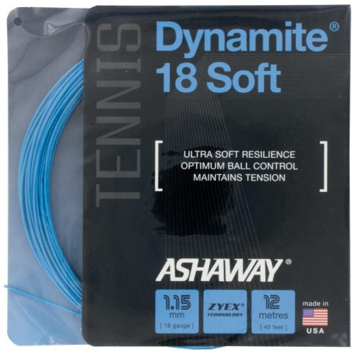 Ashaway Dynamite 18 Soft Blue: Ashaway Tennis String Packages