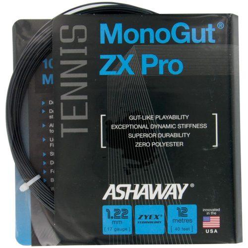Ashaway Monogut ZX Pro 17 Black: Ashaway Tennis String Packages