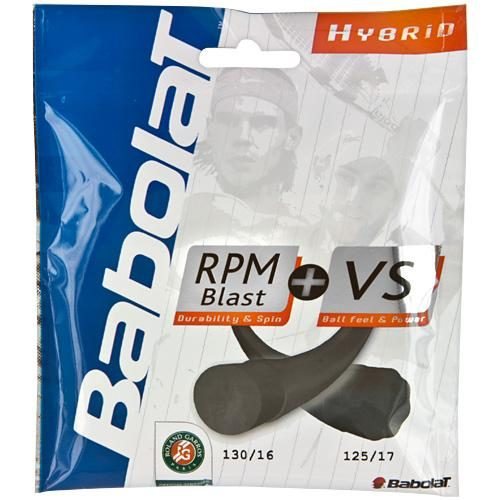 Babolat RPM Blast 17 + VS 16: Babolat Tennis String Packages