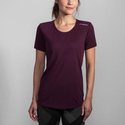 Brooks Distance Short Sleeve Top: Brooks Women's Running Apparel