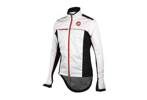 Castelli Sella Rain Jacket - Men's - white/black, x-large