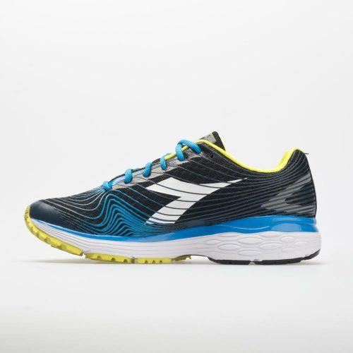 Diadora Mythos Blushield Fly: Diadora Men's Running Shoes Black/Light Blue