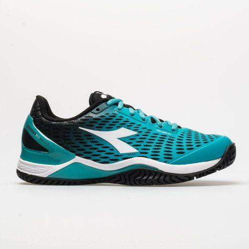 Diadora Speed Blushield 2 AG: Diadora Women's Tennis Shoes Black/Ceramic/White