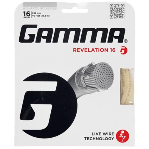 Gamma Live Wire Revelation 16: Gamma Tennis String Packages