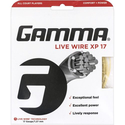 Gamma Live Wire XP 17: Gamma Tennis String Packages