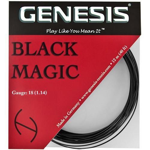 Genesis Black Magic 18: Genesis Tennis String Packages