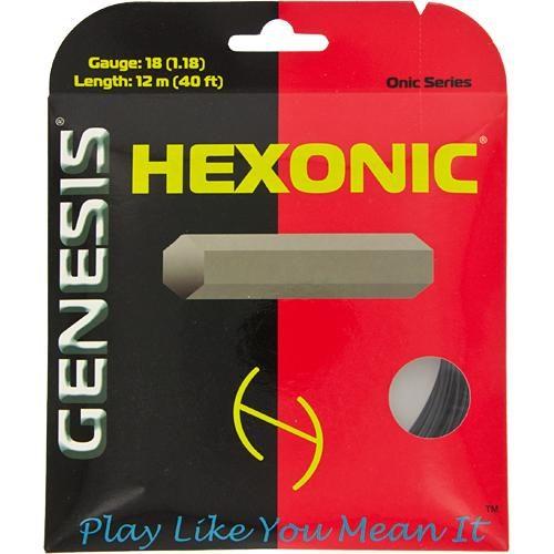 Genesis Hexonic 18: Genesis Tennis String Packages