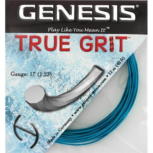 Genesis True Grit 17 1.23: Genesis Tennis String Packages