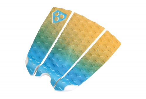 Gorilla Grip 3 Piece Feed Dawn Traction Pad - blue/yellow, one size