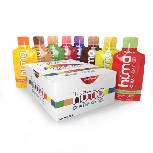 Huma Energy Gel Assorted Box of 24: Huma Gel Nutrition