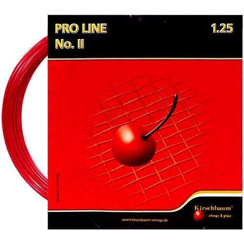 Kirschbaum Pro Line II 17 1.25 Red: Kirschbaum Tennis String Packages