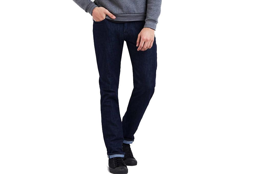 "Levi's Commuter 511 5 Pocket Slim Fit Jeans 30"" Inseam - Men's - indigo denim, 34"
