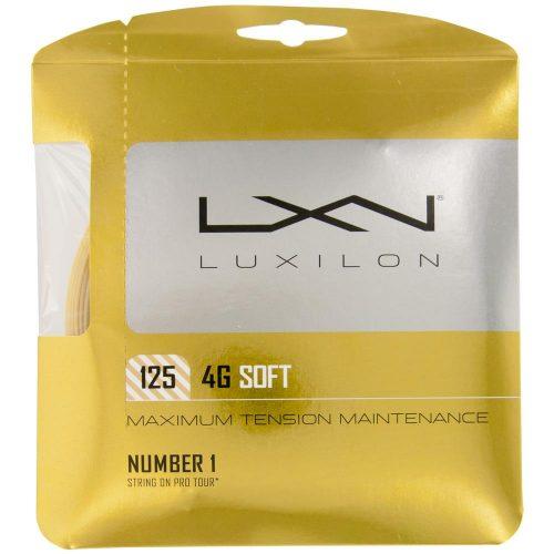 Luxilon 4G Soft 16 (1.25): Luxilon Tennis String Packages