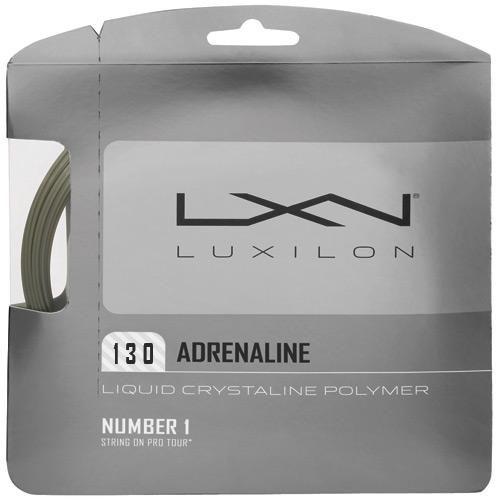 Luxilon Adrenaline 16 (1.30): Luxilon Tennis String Packages