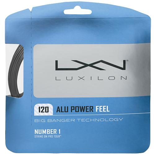 Luxilon Big Banger ALU Power Feel 18 (1.20): Luxilon Tennis String Packages
