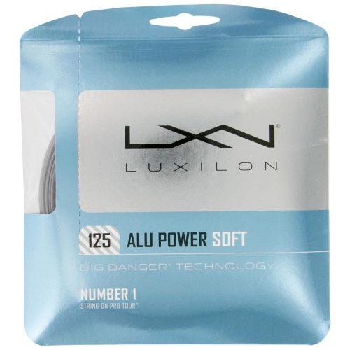Luxilon Big Banger ALU Power Soft 16L (1.25): Luxilon Tennis String Packages