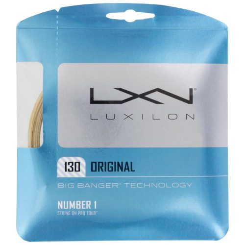 Luxilon Big Banger Original 16 (1.30): Luxilon Tennis String Packages
