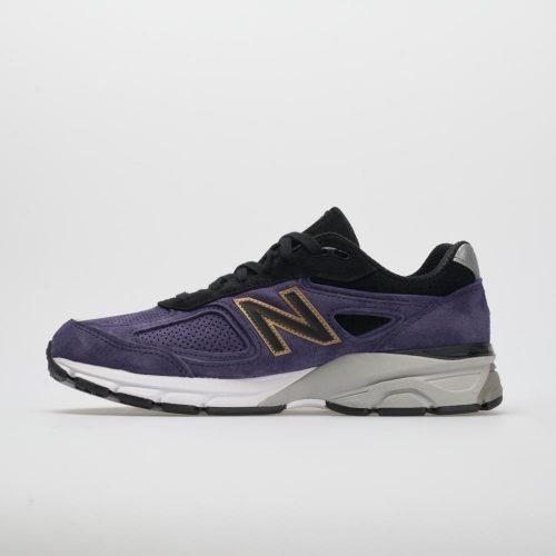 New Balance 990v4: New Balance Men's Running Shoes Black/Wild Indigo