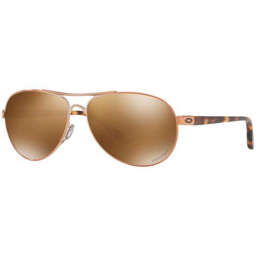 Oakley Feedback PRIZM Polarized Rose Gold Sunglasses: Oakley Sunglasses