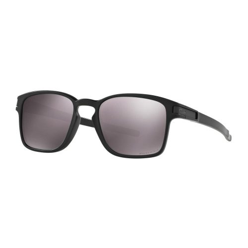 Oakley Latch Square Matte Black Prizm Daily Polarized Sunglasses: Oakley Sunglasses