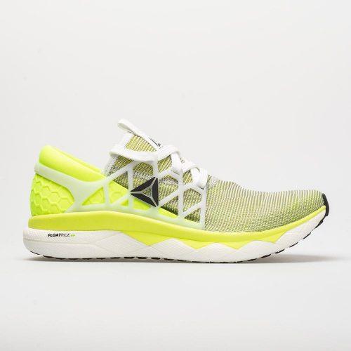 Reebok Floatride Run Flexweave: Reebok Men's Running Shoes White/Solar Yellow/Black
