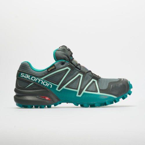 Salomon Speedcross 4 GTX: Salomon Women's Running Shoes Balsam Green/Tropical Green