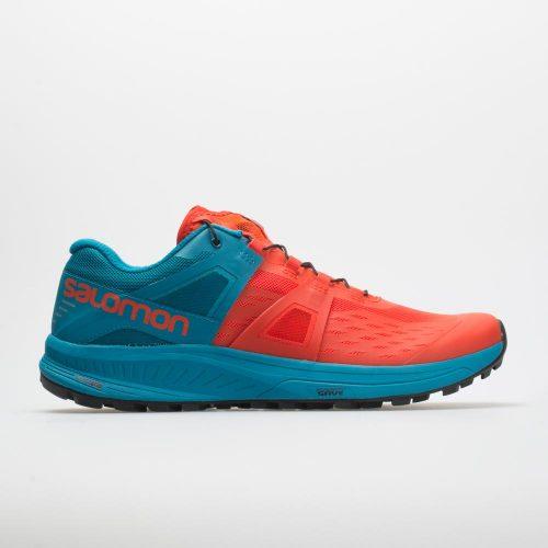 Salomon Ultra Pro: Salomon Men's Running Shoes Cherry Tomato/Fjord Blue/Black