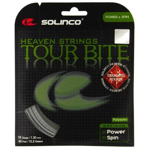 Solinco Tour Bite Diamond Rough 16 1.30: Solinco Tennis String Packages